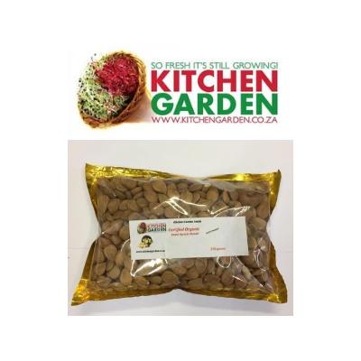 Kitchen Garden – Apricot Kernels (Raw, Shelled): Super Nutrition for Damaged Cells (350g)