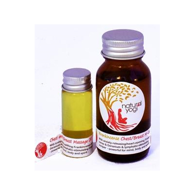 Natural Yogi – Breast and Chest Massage Oil 50ml