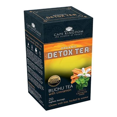 BuchuLife CKN Detox Tea Buchu & Cinnamon 20 bags