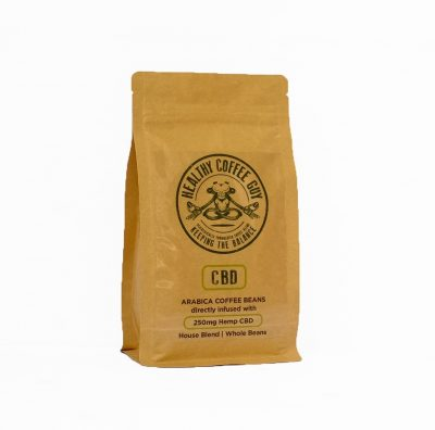 Healthy Coffee Guy – 250g CBD-Infused (250mg CBD)