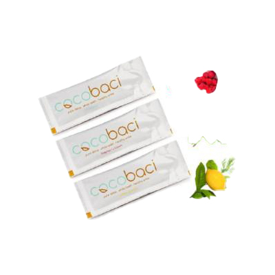 Cocobaci Oil Pulling Sachets – Raspberry Kisses Pack of 18