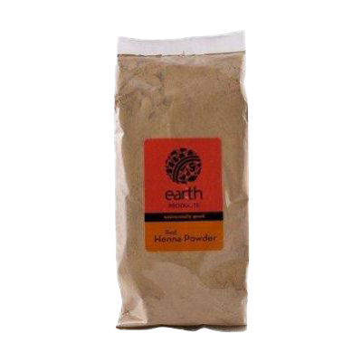 Earth Products Organic Red Henna Powder 250g