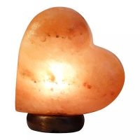 Saltpur | Himalayan Heart Shape Salt Lamp | Pink | Medium (3-5 Kg)