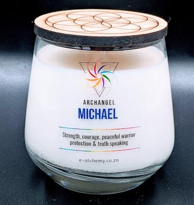 E-Alchemy Archangel Michael Candle