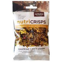 Earthshine Nutricrisps Sauerkraut & Black Pepper 25g
