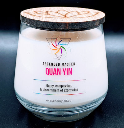 E-Alchemy Quan Yin Candle (ascended masters)