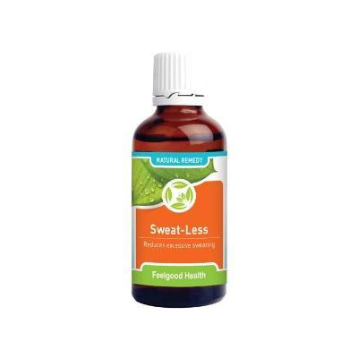 Feelgood Health Sweat-Less – Natural Remedy Reduces Excessive Perspiration