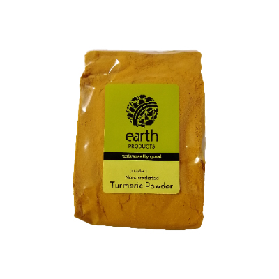 Earth Products Non-Irradiated Turmeric Powder 250g