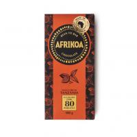 Afrikoa 80% Sugar Free Dark Chocolate 100g bar