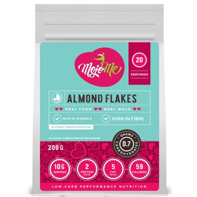 MojoMe Almond Flakes 200g