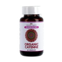 Absolute Organix SuperSpices – Organic Cayenne Vegecaps 60s