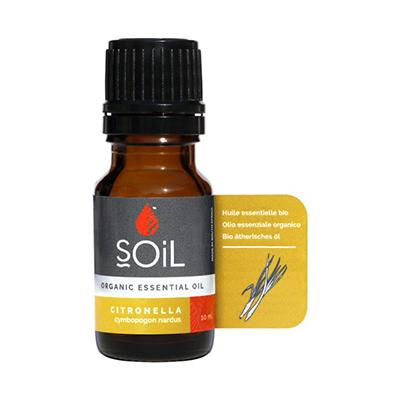 Soil Organic Citronella Oil 10ml