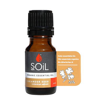 Soil Organic Coriander Seed Oil 10ml