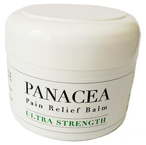 PanaceaPain Relief Balm – Ultra Strength 125mlJar/Tub