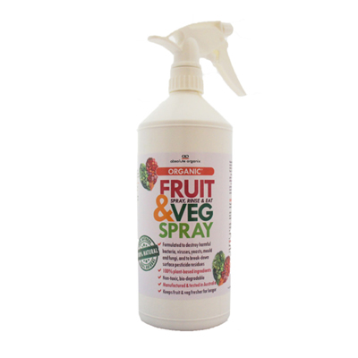 Absolute Organix Fruit & Veg Spray 500ml