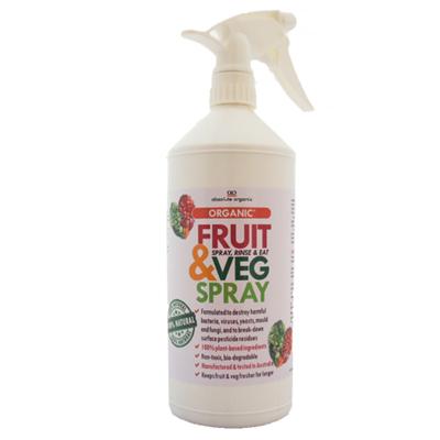 Absolute OrganixFruit & Veg Spray 1L