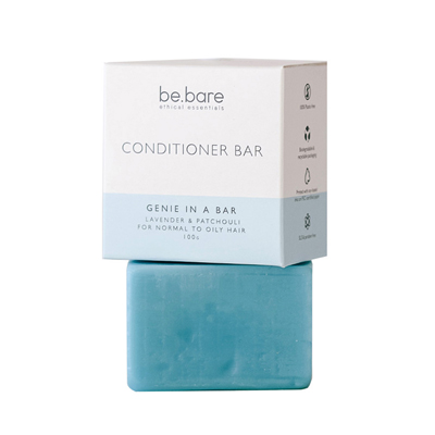 BE.BARE Life  Genie in a Bar Conditioning Bar 100g