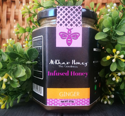 AL KHAIR HONEY® Ginger Infused Honey 370g