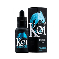 Koi Blue Raspberry CBD Vape Juice 100mg, 250mg or 500mg