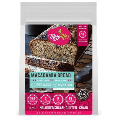 MojoMe Macadamia Nut and Seed Bread 275g
