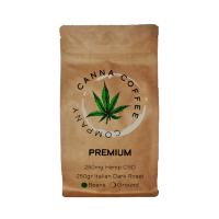 Canna Coffee Premium Coffee Beans Infused with CBD | 250gr | Italian Roast