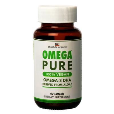 Absolute Organix Omega Pure Vegan DHA Vegecaps 60s