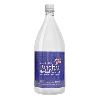 BuchuLife Spring Distilled Buchu Water 1.5L