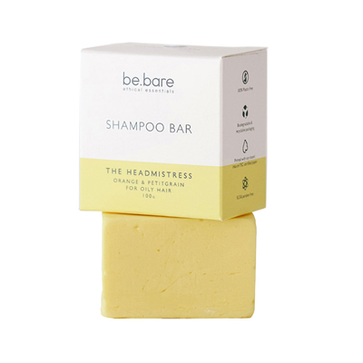 BE.BARE Life The Headmistress Shampoo Bar 100g