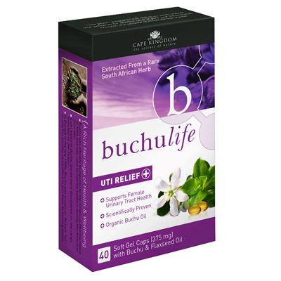 BuchuLife UTI Relief Capsules