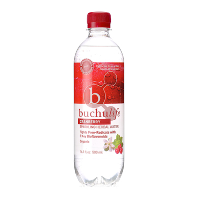 BuchuLife Herbal Water Cranberry x 6
