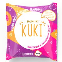 Nanuki Kuki Chocolate and Strawberry 45g x 18 units