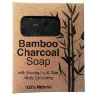 Eco Planet Bamboo Charcoal Soap Eucalyptus & Aloe Ferox