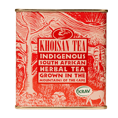 Khoisan Tea Organic Rooibos Vanilla Loose 200g Tin