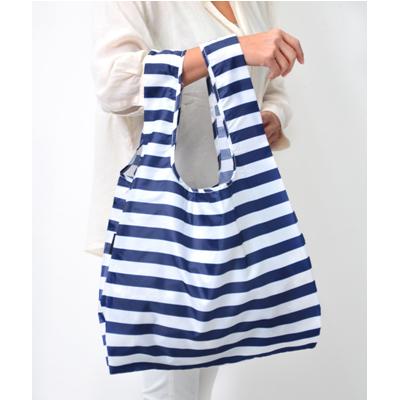 Mybaguse Stripe Reusable Shopping Bag