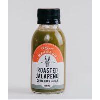 El Burro Mercado Roasted Jalapeno & Coriander Hot Sauce 100ml