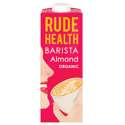 Rude Health Almond Barista Drink 1L