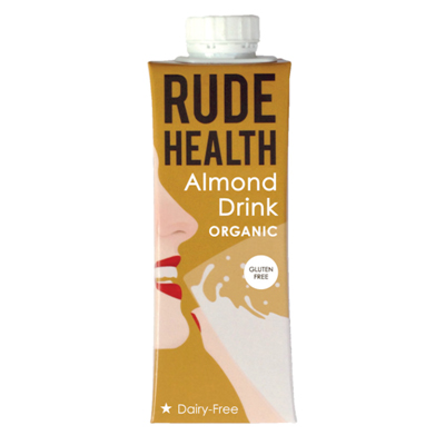 Rude Health  Almond Drink Unsweetened 250ml