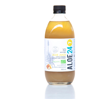 Totally Wild Aloe 24/7 – Lemon, Ginger & Honey Drink 500ml