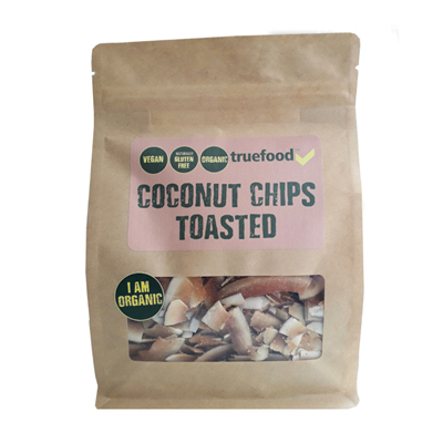 Truefood Organic Coconut Chips Toasted 150g