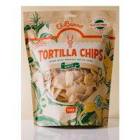 El Burro Mercado White Corn Chips 250g x 24 units