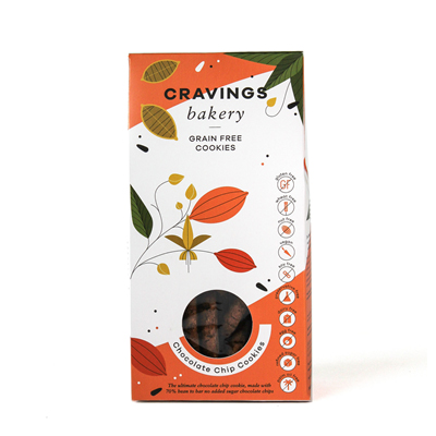 Cravings Bakery Chocolate Chip Cookie 200g
