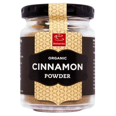 Khoisan Tea Organic Cinnamon Powder 30g