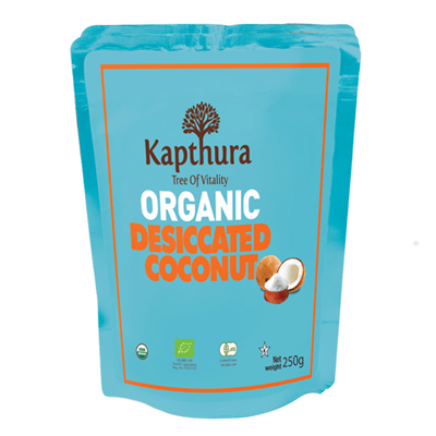 Kapthura Dessicated Coconut Organic 250g