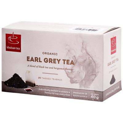 Khoisan Tea Organic Earl Grey 40g
