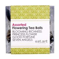 Eat.Art Flowering Tea Balls Mixed Case