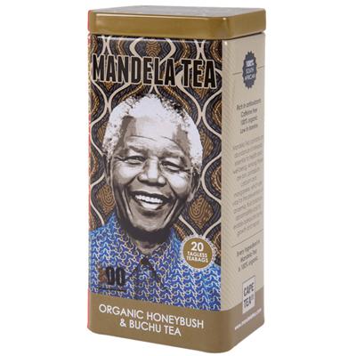 Mandela Tea Organic Honeybush & Buchu Tin