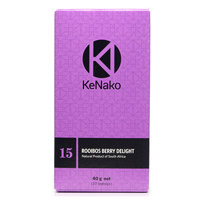 Khoisan Tea Kenako  Rooibos Berry Delight Box 40g