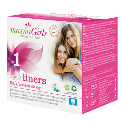 MASMI Organic Cotton Masmi Girls 1 Pantyliner