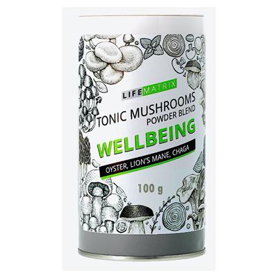 Life Matrix Tonic Mushrooms: Wellbeing blend 100g