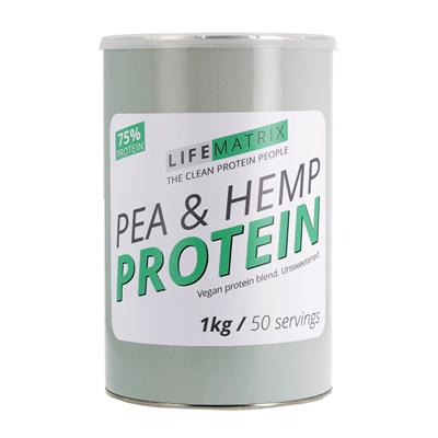 Life Matrix Pea & Hemp Protein 200g / 400g / 1kg